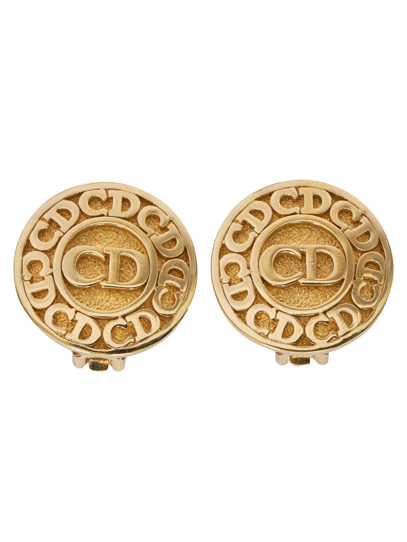Dior ロゴイヤリング