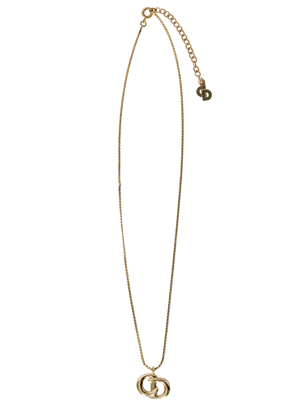 DIOR CDモチーフ NECKLACE