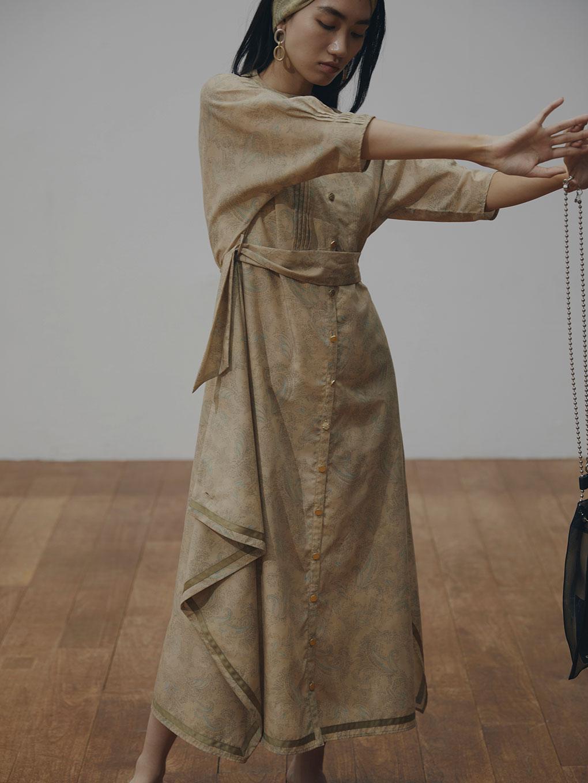 MEDI PHOEBE SCARF DRESS