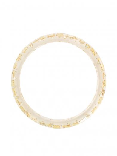 LOUIS VUITTON モノグラム CLEAR BANGLE
