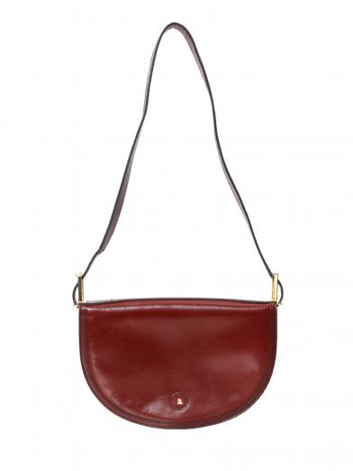 BALLY ROUND FLAP SHOULDER BAG
