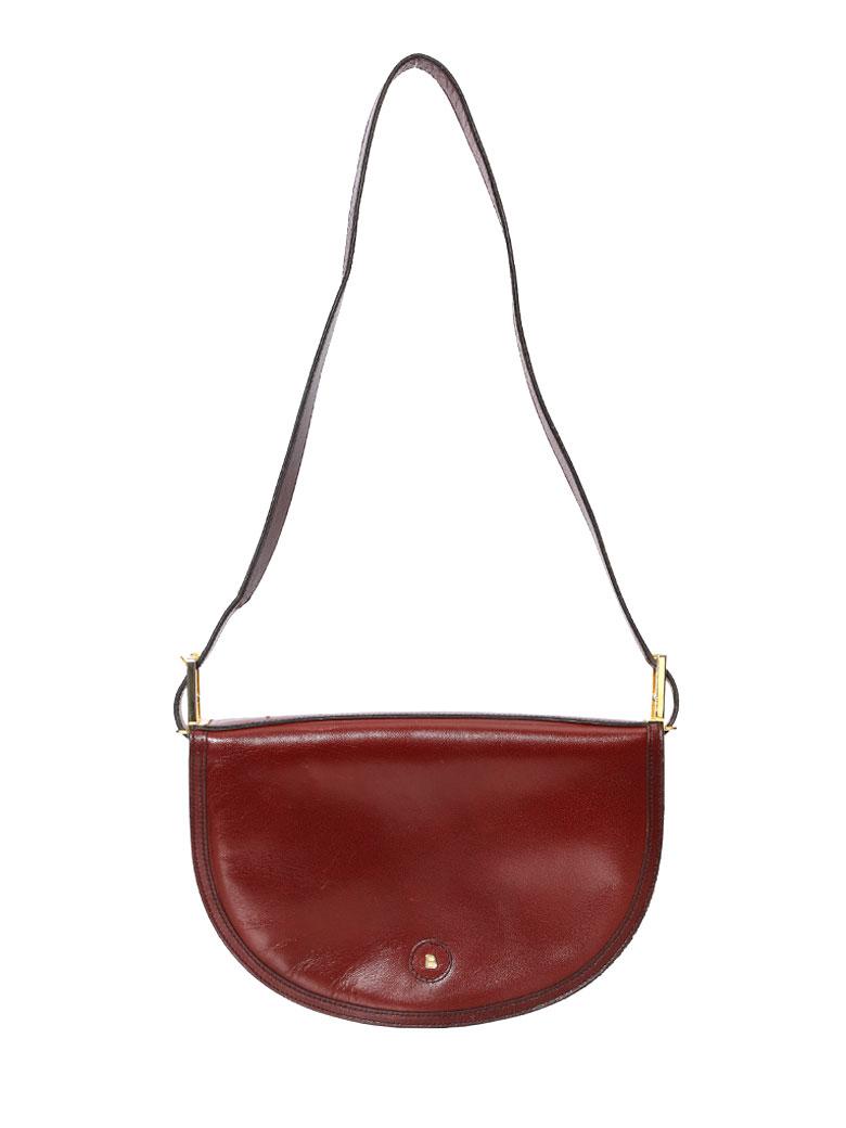 BALLY ROUND FLAP SHOULDER BAG