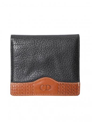 DIOR LEATHER MINI WALLET
