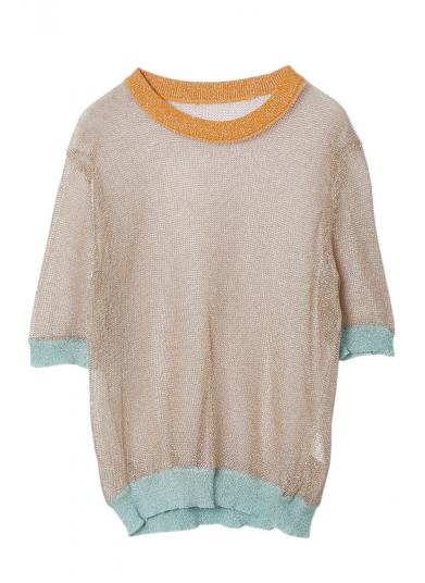 GLITTER SEETHROUGH KNIT