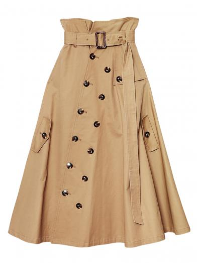 TRENCH LIKE SKIRT