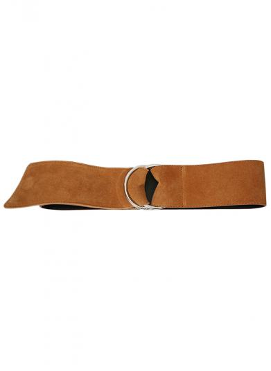 RING SUEDE BELT