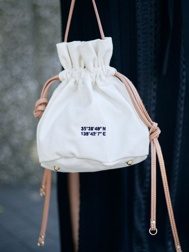 PASS CODE DRAWSTRING BAG