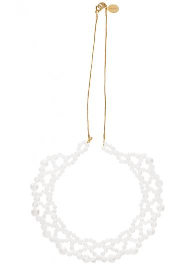 jour couture CLEAR NECKLACE