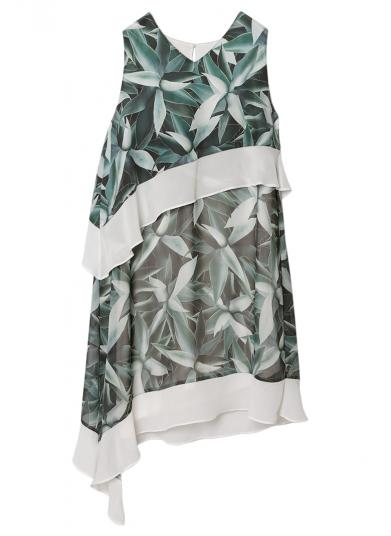 BOTANICAL LAYERED DRESS