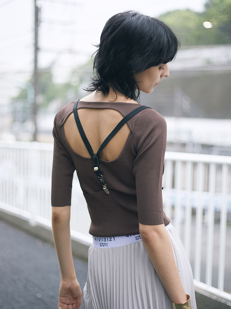 CONNECT SUSPENDER KNIT
