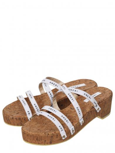 MEDI AMERI TAPE ROUGH SANDAL