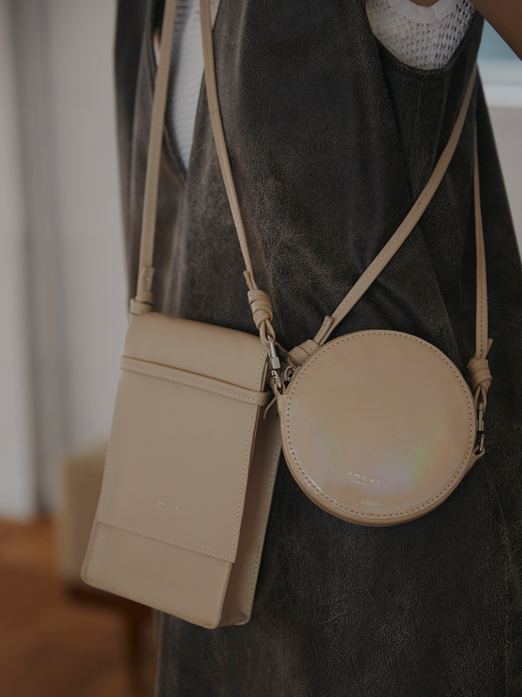 SQUARE AND CIRCLE BAGS