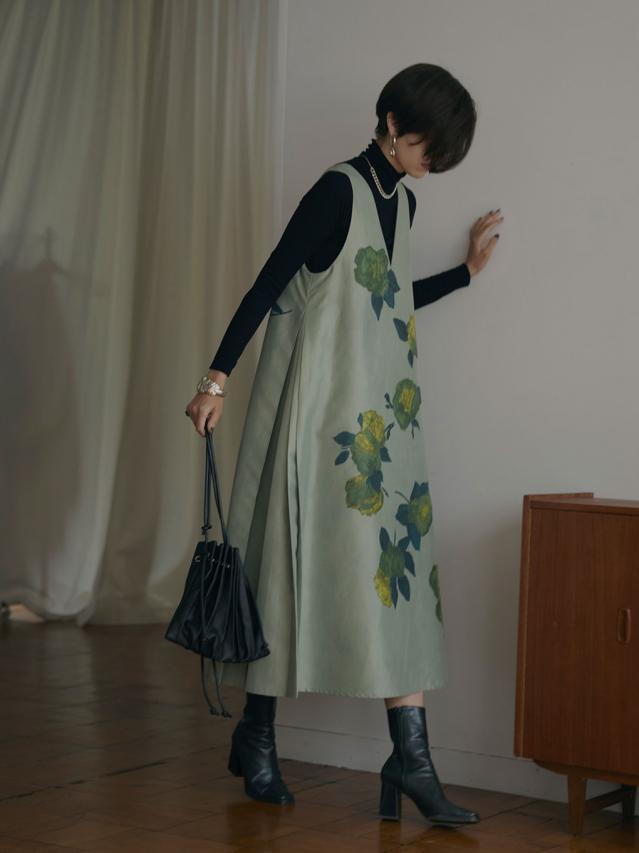ELLIE ASYMMETRY PLEATS DRESS
