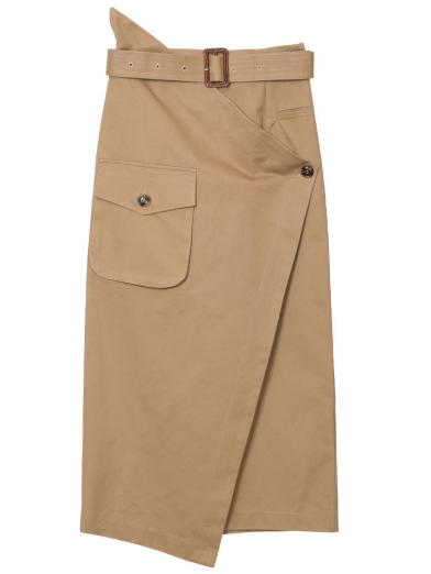 BIG POCKET WRAP SKIRT