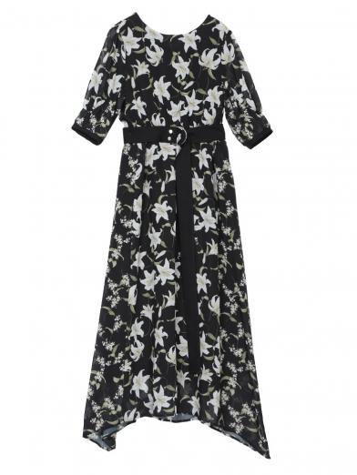 TWIN LILY DRESS