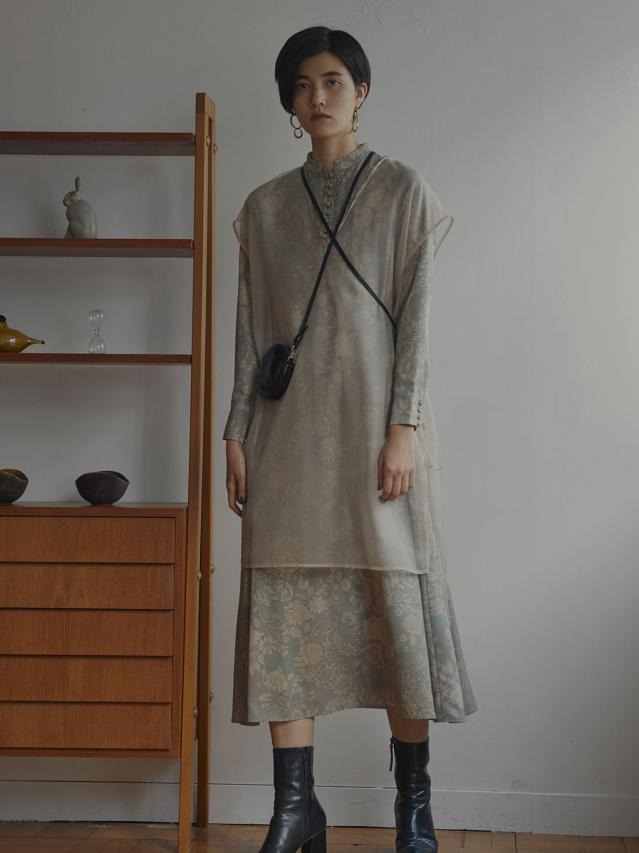 MADELEINE VEIL DRESS
