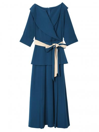VIOLA DOUBLE BELT DRESS