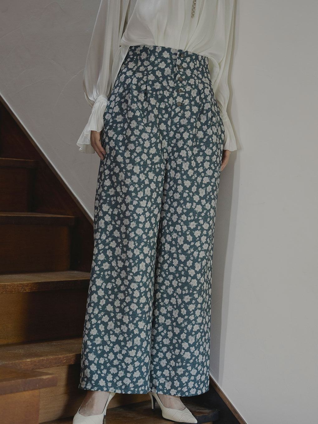 MIA VINTAGE FLOWER  PANTS