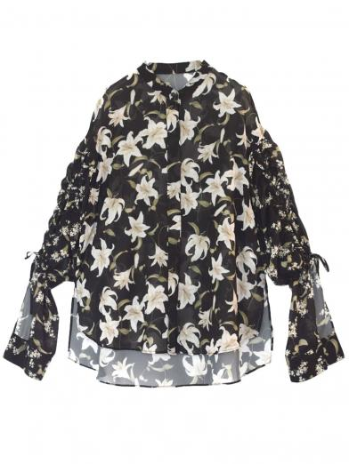 TWIN LILY BLOUSE