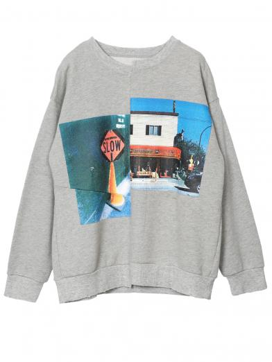 VIVID PHOTO SWEAT TOP