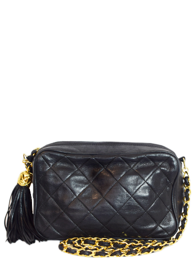 CHANEL FRINGE SHOULDER BAG