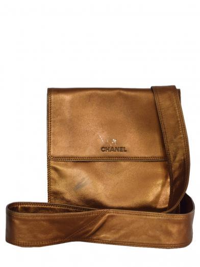 CHANEL METALLIC SHOULDER BAG