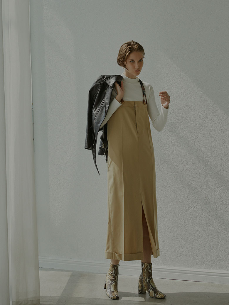 OVERALLS LIKE DRESS
