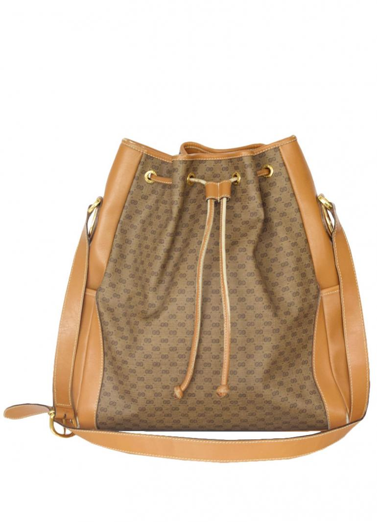 GUCCI MICRO GUCCI 巾着 SHOULDER BAG