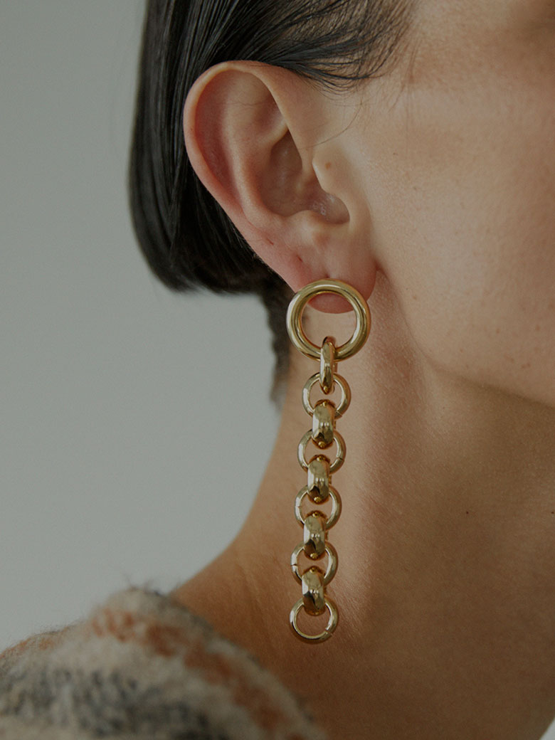 LAURA LOMBARDI PIERA EARRINGS/ピアス
