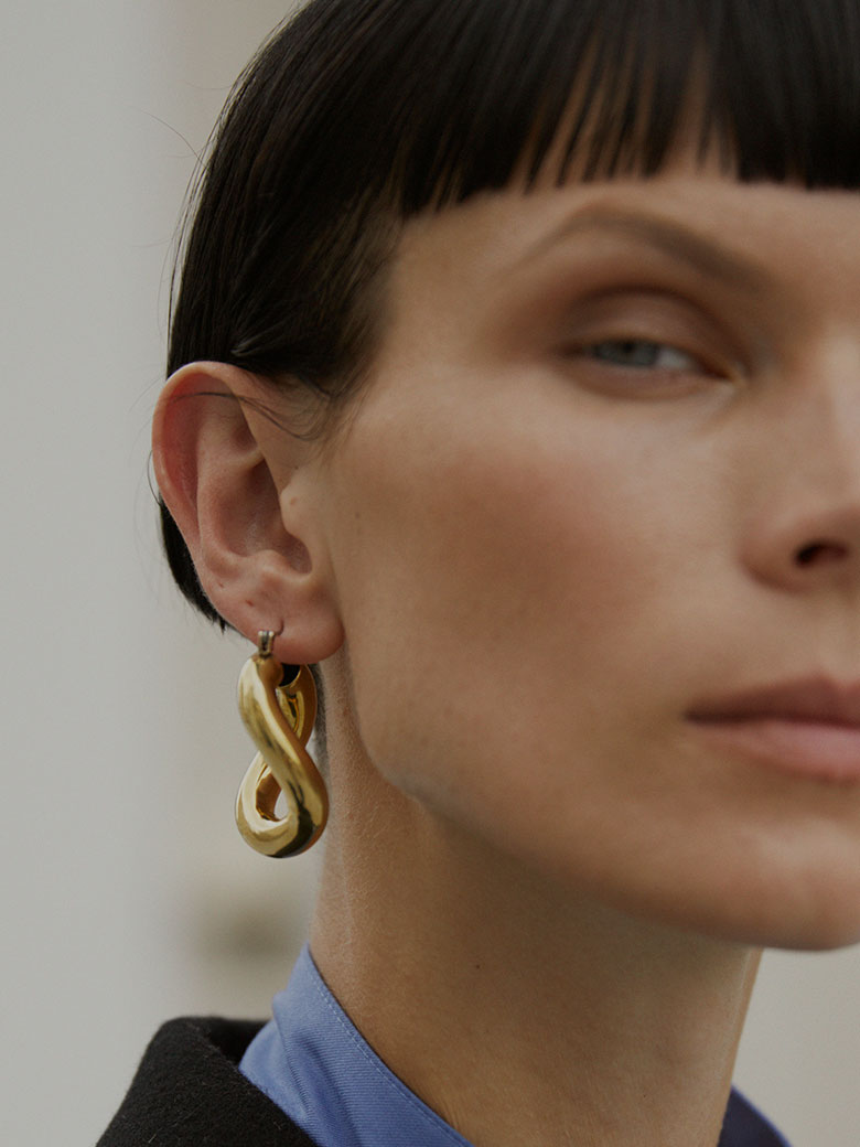 LAURA LOMBARDI ANIMA EARRINGS/ピアス