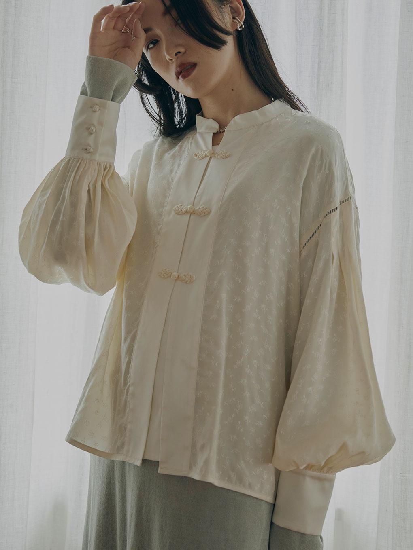 LADY PUFF CHINA SHIRT