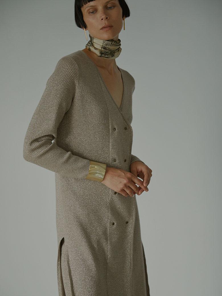 GLITTER 2WAY DOUBLE JACKET DRESS