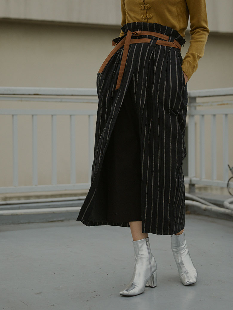 WASHI LAYERED SKIRT