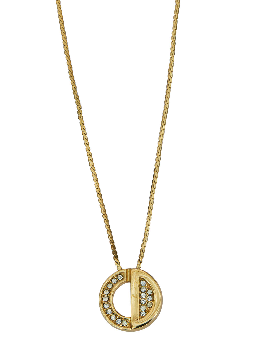 Dior CD モチーフ NECKLACE