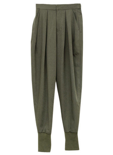 MILITARY TAPERED PANTS