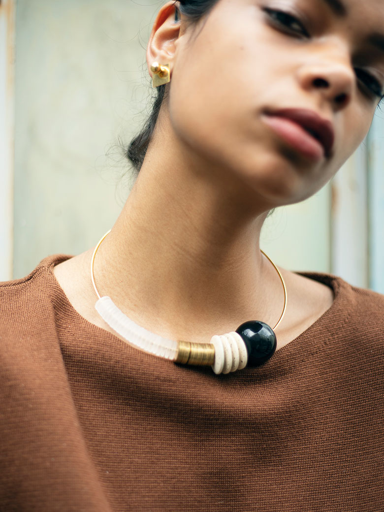 MASLOJEWELRY Baseline Necklace