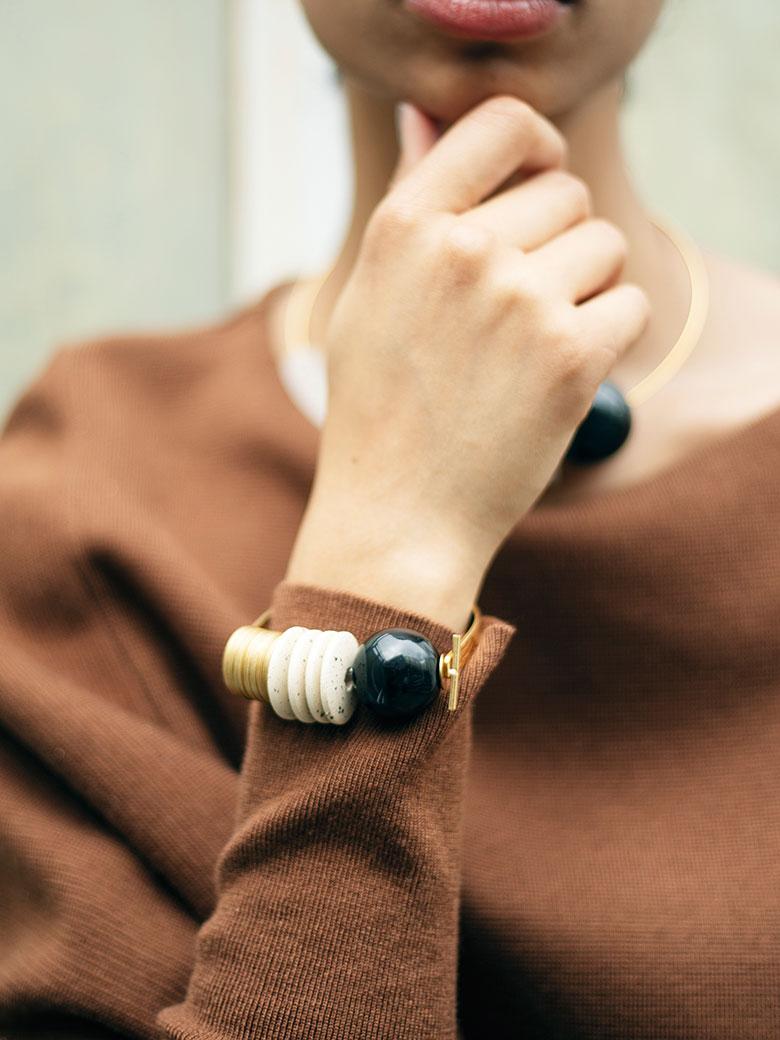 MASLOJEWELRY Baseline Bracelet