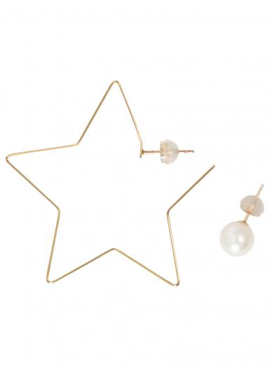 FLAT STAR & PEARL PIERCE