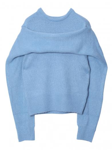 NOVEL PULL OVER KNIT