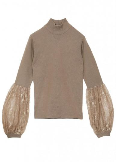 SEE THROUGH BELL KNIT