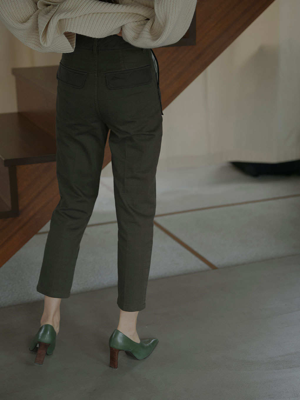 QUILTING PATCH PANTS