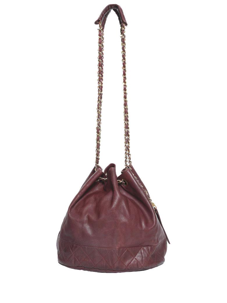 CHANEL 巾着 SHOULDER BAG