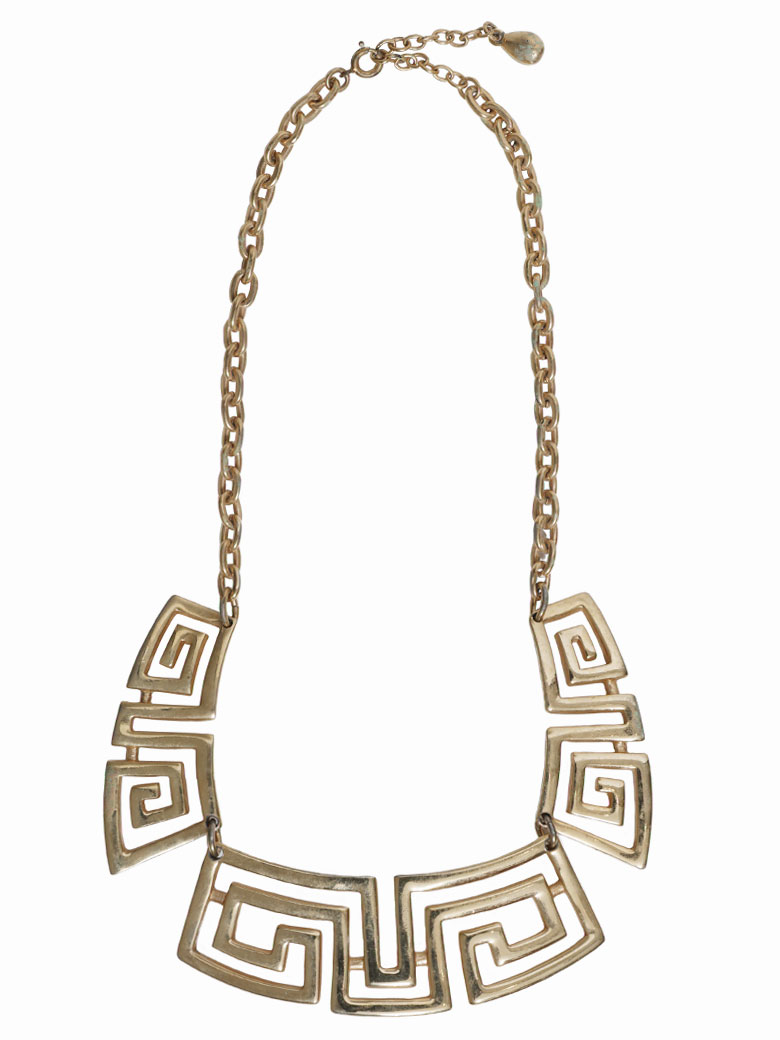 GIVENCHY GOLD MOTIF NECKLACE