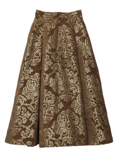 DAMASK DIMENSIONAL SKIRT