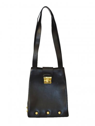 FERRAGAMO VERTICAL HAND BAG