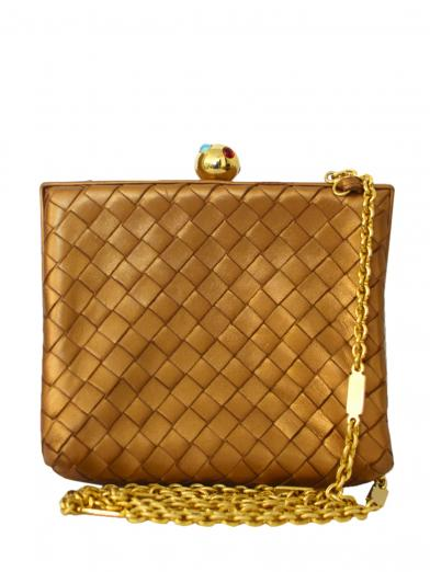 BOTTEGA VENETA SQUARE SHOULDER BAG