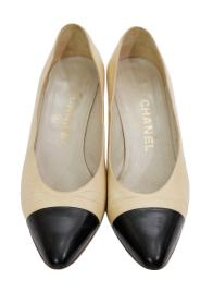 CHANEL BICOLOR PUMPS