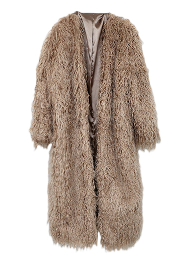 TEDDY LONG FUR COAT