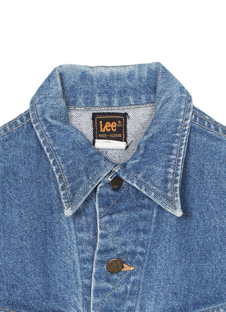 VINTAGE/DENIM JACKET LEE