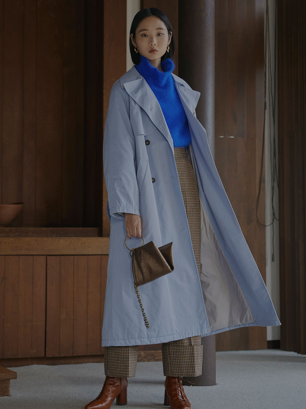 THINDOWN TRENCH COAT